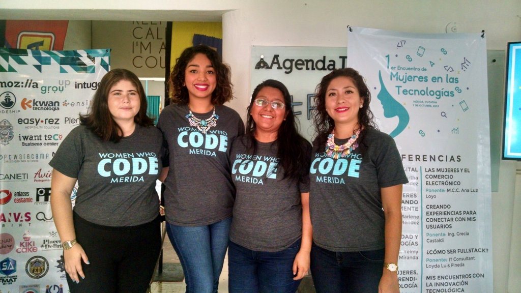 WWCode Mérida realizará el 1º Encuentro de Mujeres en las Tecnologías