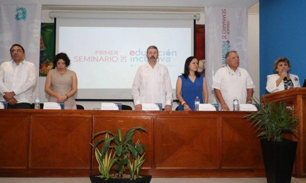 Se inaugura el Primer Seminario: La educación inclusiva, un viaje a la diferencia