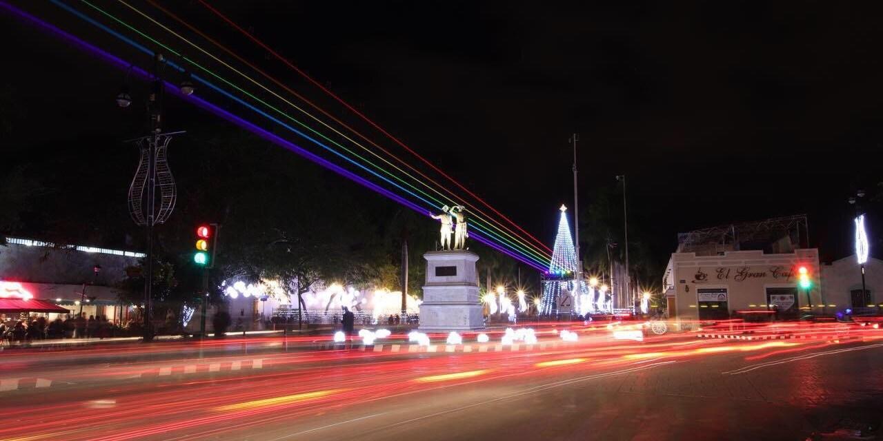 Mérida se consolida como Centro de Innovación Cultural, recibe por segunda ocasión el Festival Internacional de las Luces: Filux