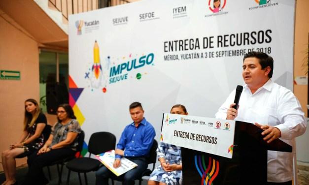 Durante este sexenio el Gobierno del Estado destinó más de 35 millones de pesos en proyectos emprendedores de jóvenes