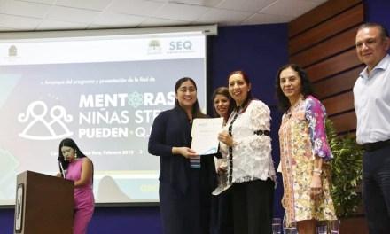 El CICY se suma al Programa Niñas STEM de Quintana Roo