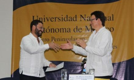 Designan al Dr. Curiel Rivera como director del CEPHCIS 2019-2023