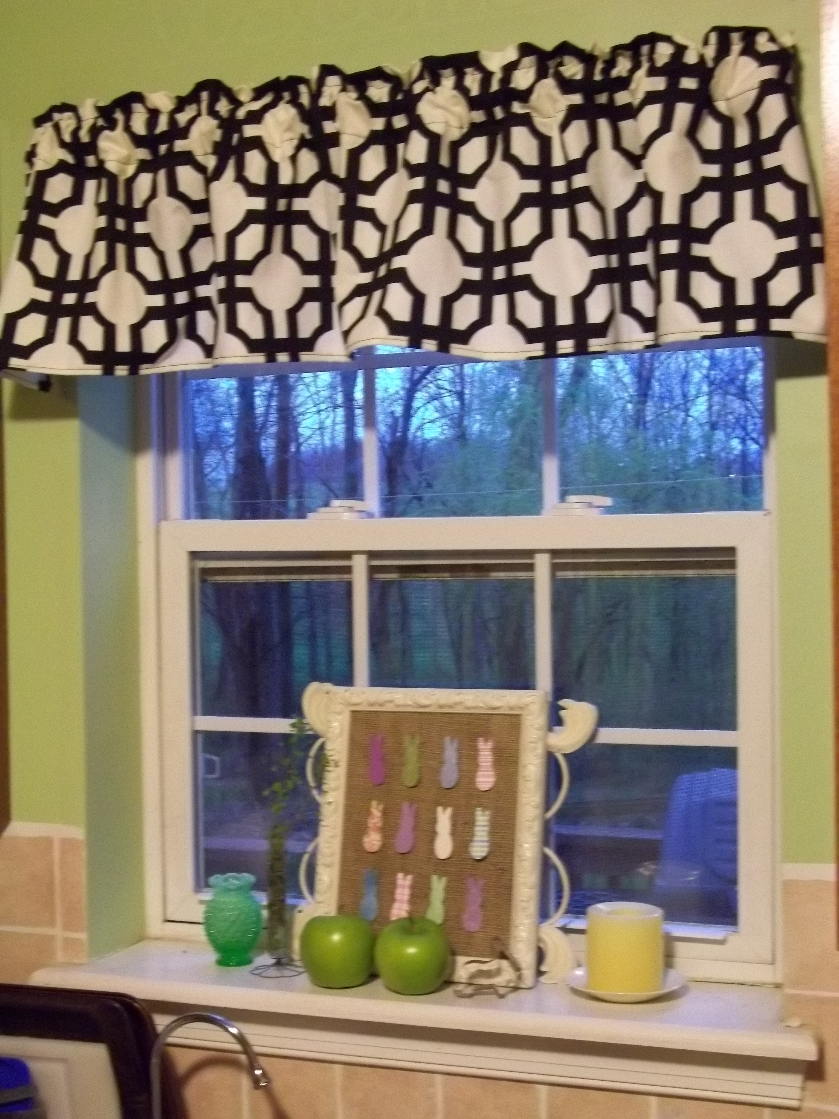 kitchen valances for windows oak cabinets window valance  quiver full of blessings