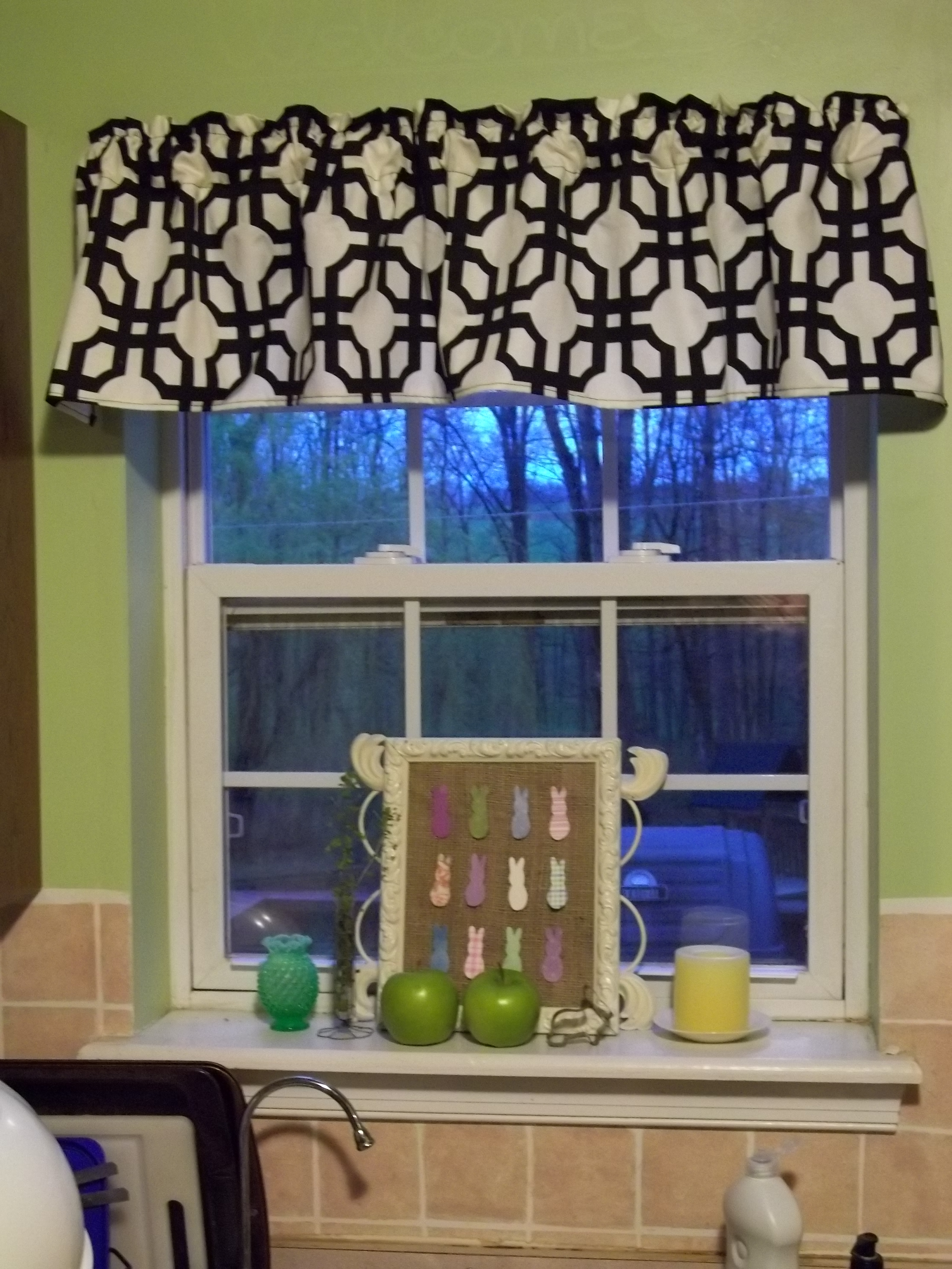 kitchen valances for windows island chandeliers window valance  quiver full of blessings