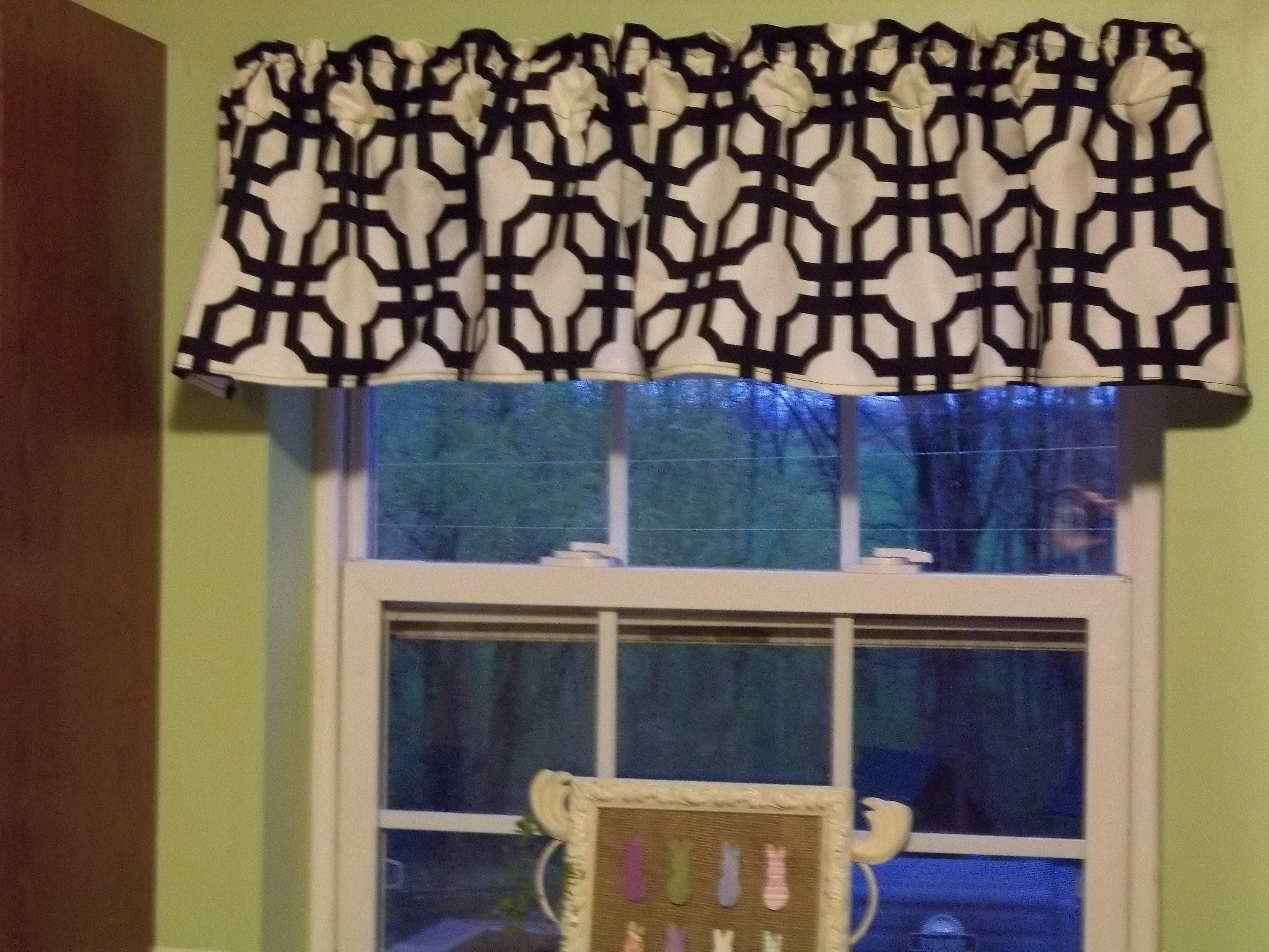 Kitchen Window Valance Quiver Full Of Blessings