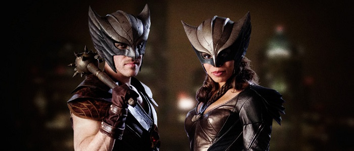 First Look At Hawkman & HawkGirl From DC's Legends Of Tomorrow!