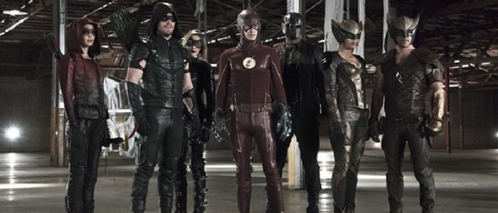 First Image From This Season's Arrow/Flash Crossover!