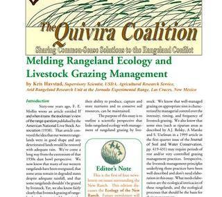 Quivira Newsletter #9
