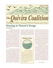 Quivira Newsletter #23