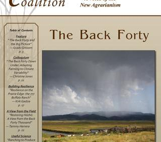 Resilience, Issue 35 – The Back Forty