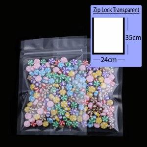 Quiware Zip Lock Transparent Pouch 24cm(Width) x 35cm(Long) -100 pouches