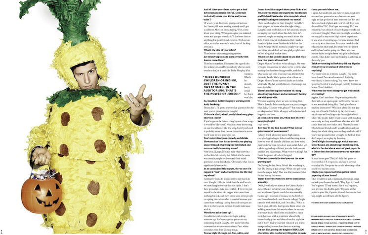 Andy Samberg by Art Streiber for Complex Magazine