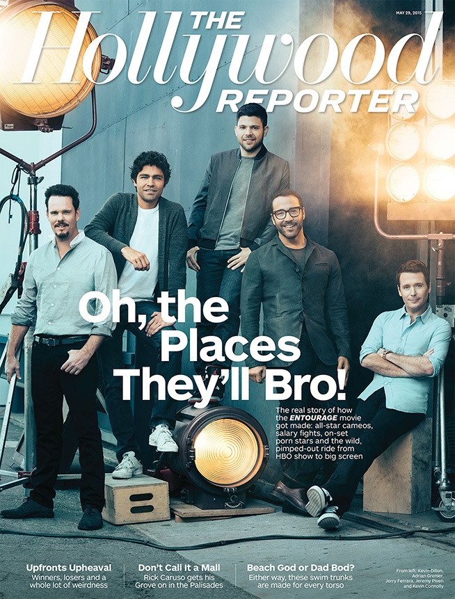 The Cast of Entourage by Austin Hargrave for the Hollywood Reporter