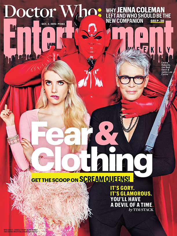 Scream Queens by Ruven Afanador for Entertainment Weekly
