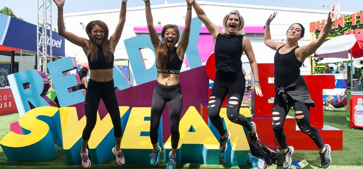 Propel Water Co:Labs Fitness Festival at Quixote Studios West Hollywood