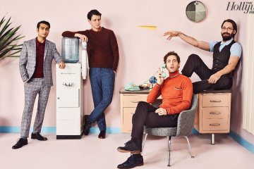 The Cast of Silicon Valley by Sami Drasin for The Hollywood Reporter