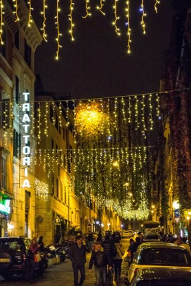 Rome Streets at Christmas