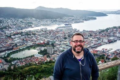 Bergen from Above