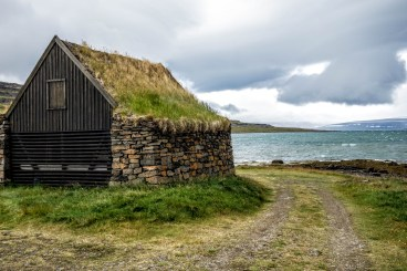 Turf Shed by the Fjord