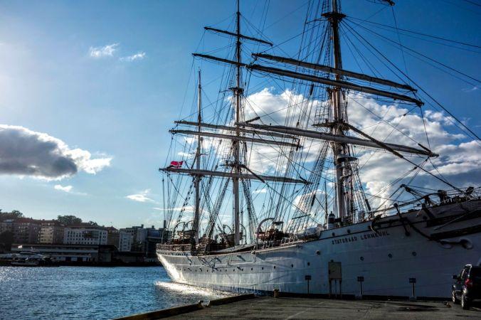 Ship at Harbor