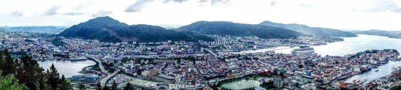 Panoramic Bergen