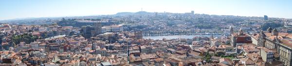 View from Torre dos Clérigos