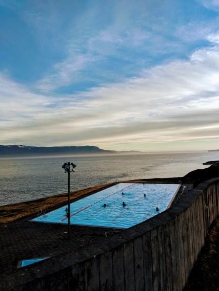 Public Pool in Hofsos