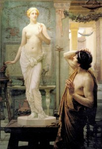 Pygmalion and Galatea