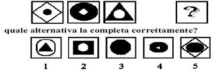 Test e Quiz Logica e cultura generale (quinto test