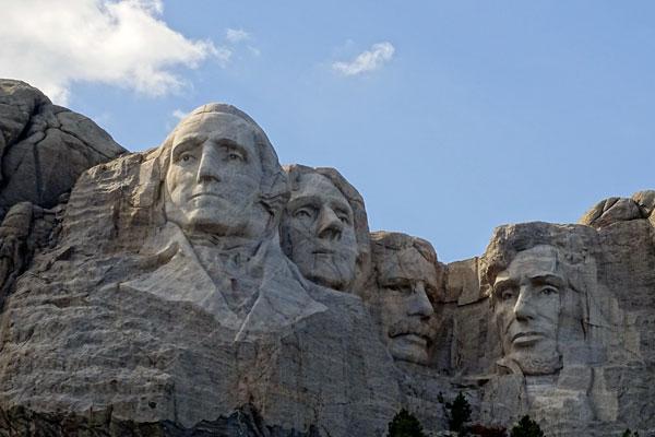 Quizagogo - Famous Landmarks in USA - Mt. Rushmore