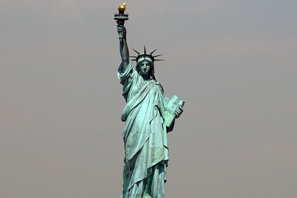 Quizagogo - Famous Landmarks in USA - Statue of Liberty