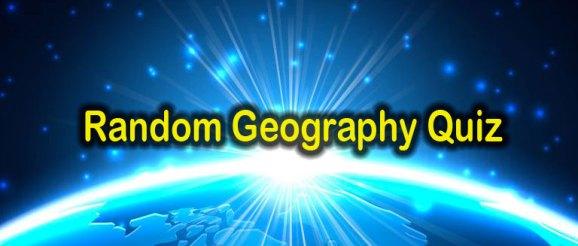 Quizagogo - Random Geography Quiz
