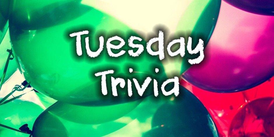 Tuesday Trivia 2020-01-28