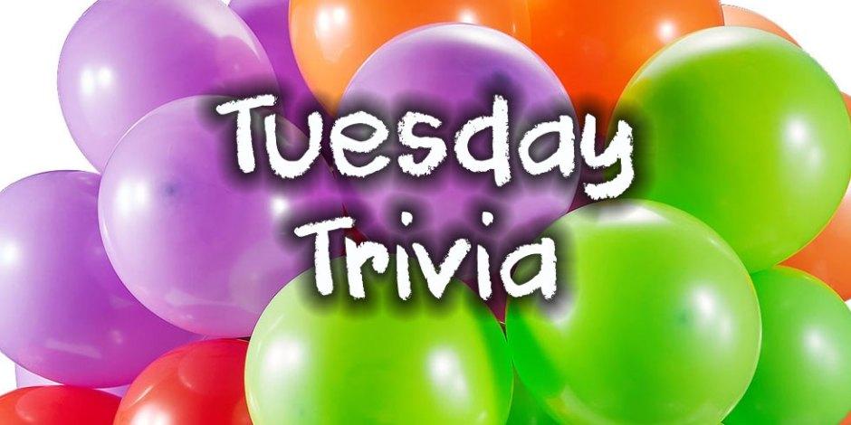 Tuesday Trivia 2020-02-25