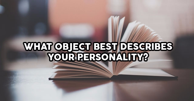 what object best describes