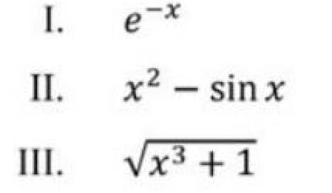Which of the above function is/are increasing everywhere is [0,1]?