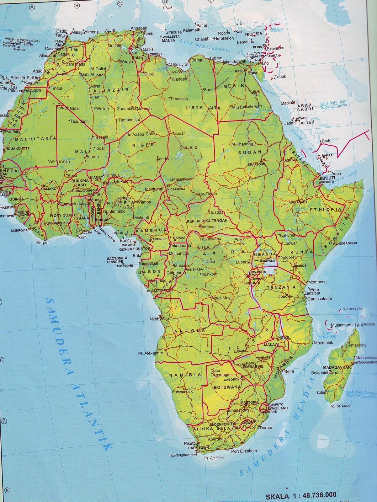Letak Geografis Benua Afrika : letak, geografis, benua, afrika, BENUA, AFRIKA, Geography, Quizizz