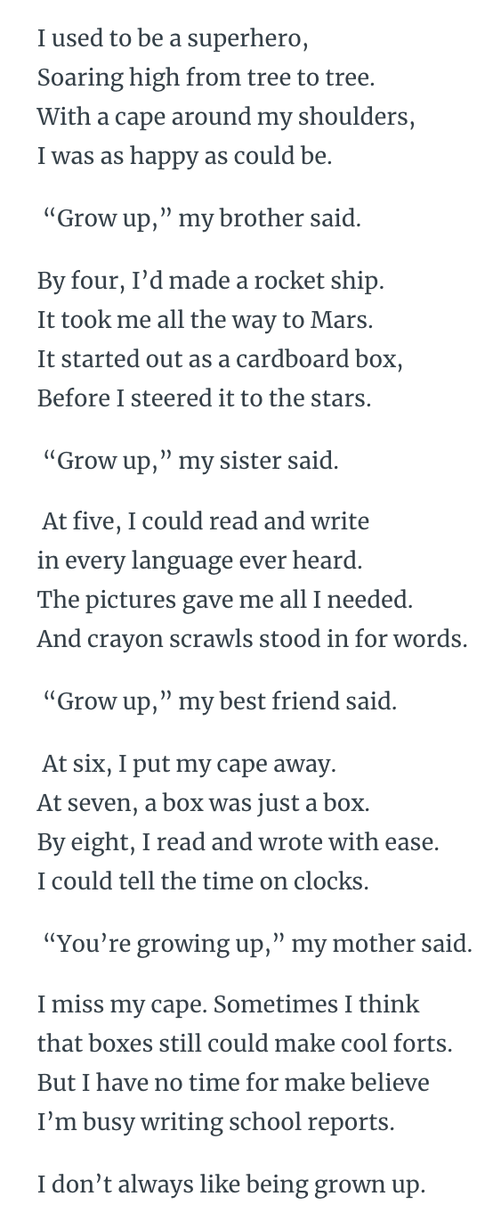 All Grown Up You Re A Friend To Me : grown, friend, Grown, Reading, Works, English, Quizizz