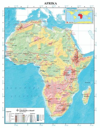 Letak Geografis Benua Afrika : letak, geografis, benua, afrika, Benua, Afrika, KELAS, SENIN,, OKTOBER, Quizizz