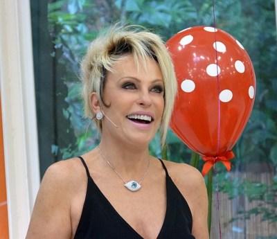 foto da apresentadora da Tv Globo Ana Maria Braga