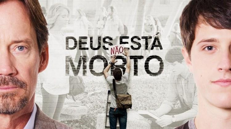capa do filme Deus não está morto