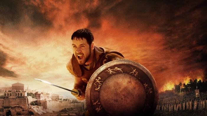 capa do filme Gladiador do ano de 2000