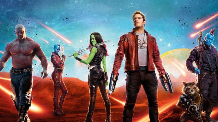 capa do filme guardiões da galaxia - filme de ação disponível na netflix