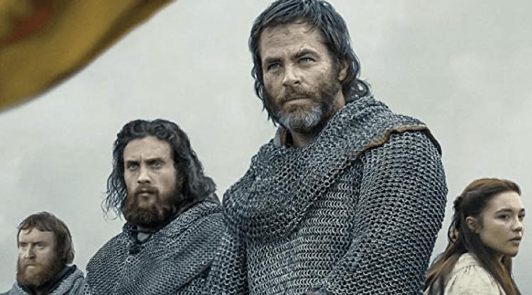 cena do filme legítimo rei com o ator protagonista - filme de ação disponível na netflix