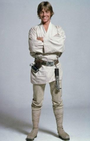 foto do famoso lutador Luke Skywalker