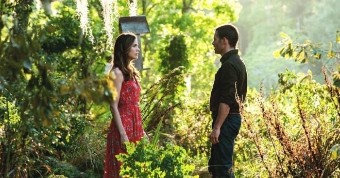 Filme o melhor de mim - uma das cenas no jardim