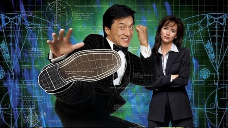Jackie Chan e a atriz principal do filme o terno de 2 bilhões de dólares