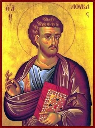 foto do santo São lucas