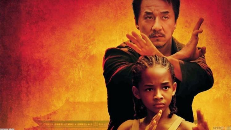 capa do filme karate kid