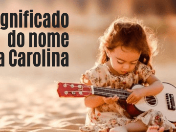 foto escrita significado do nome Ana Carolina